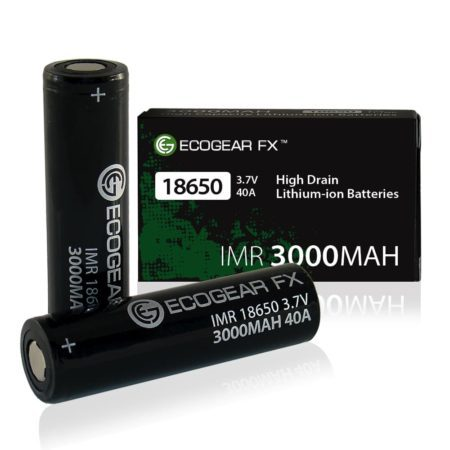 imr high drain 18650 rechargeable batteries