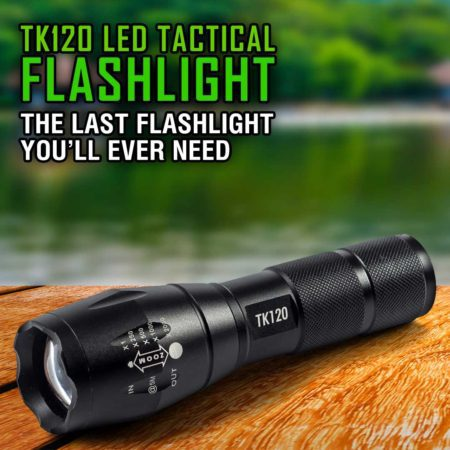 18650 tactical flashlight