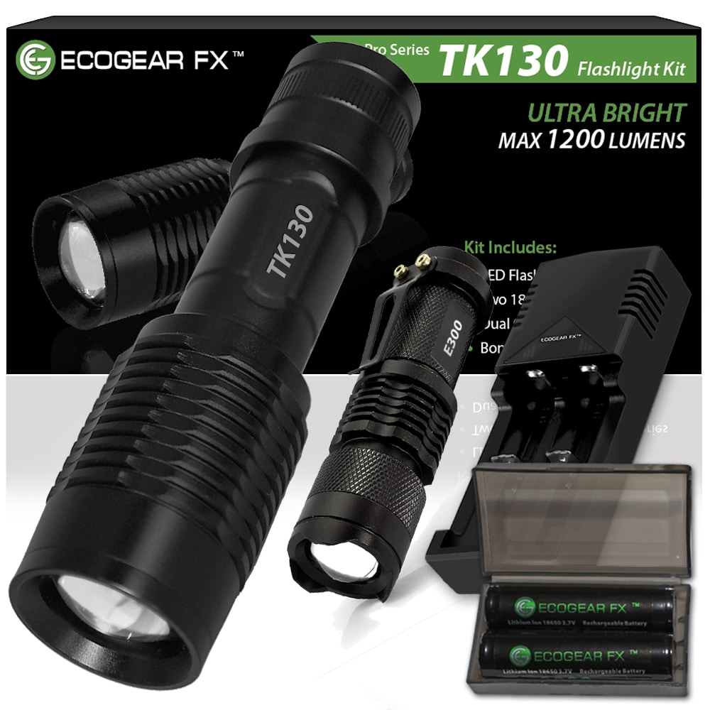 Tk130 Complete Led Flashlight Kit
