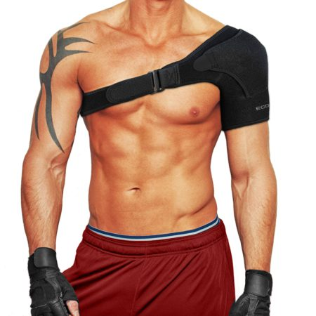 Shoulder Support Brace with Adjustable Shoulder Strap