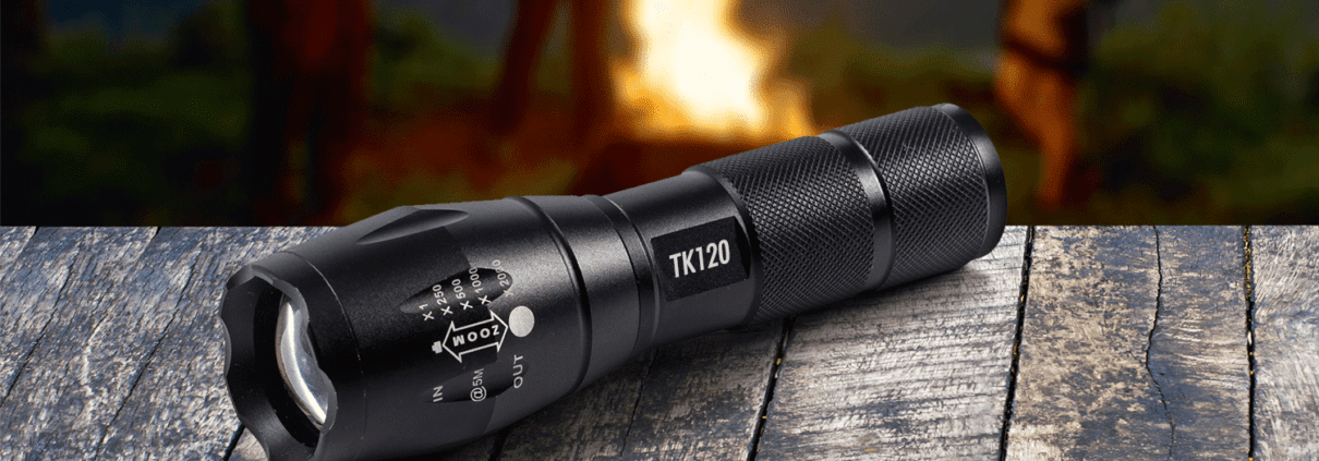 security tactical flashlights