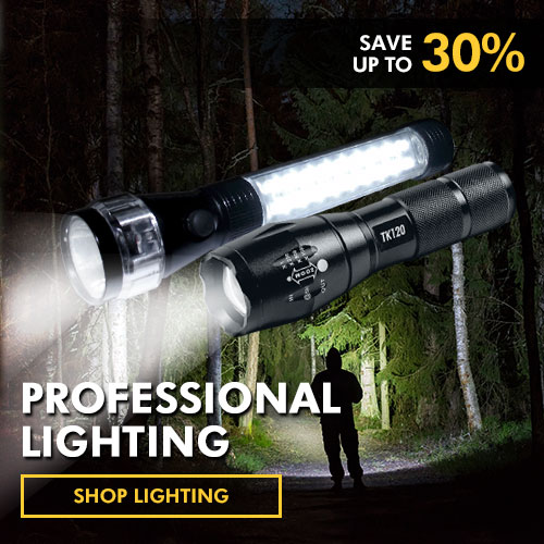 professional led lighting flashlights