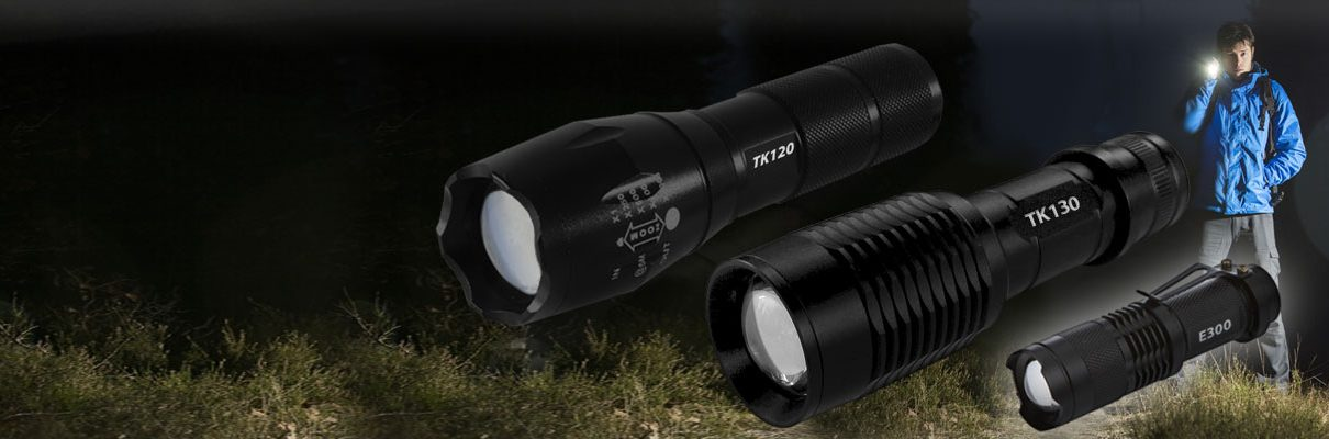 LED flashlight for camping