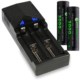 18650 batteries with charger