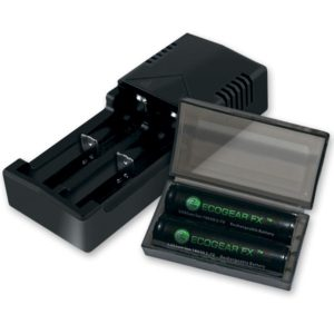 18650 Batteries and Charger