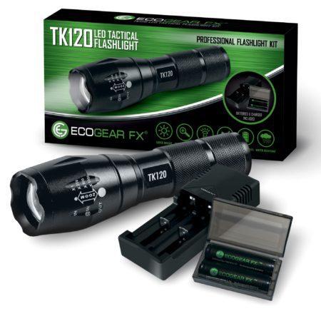 LED Tactical Flashlight Kits