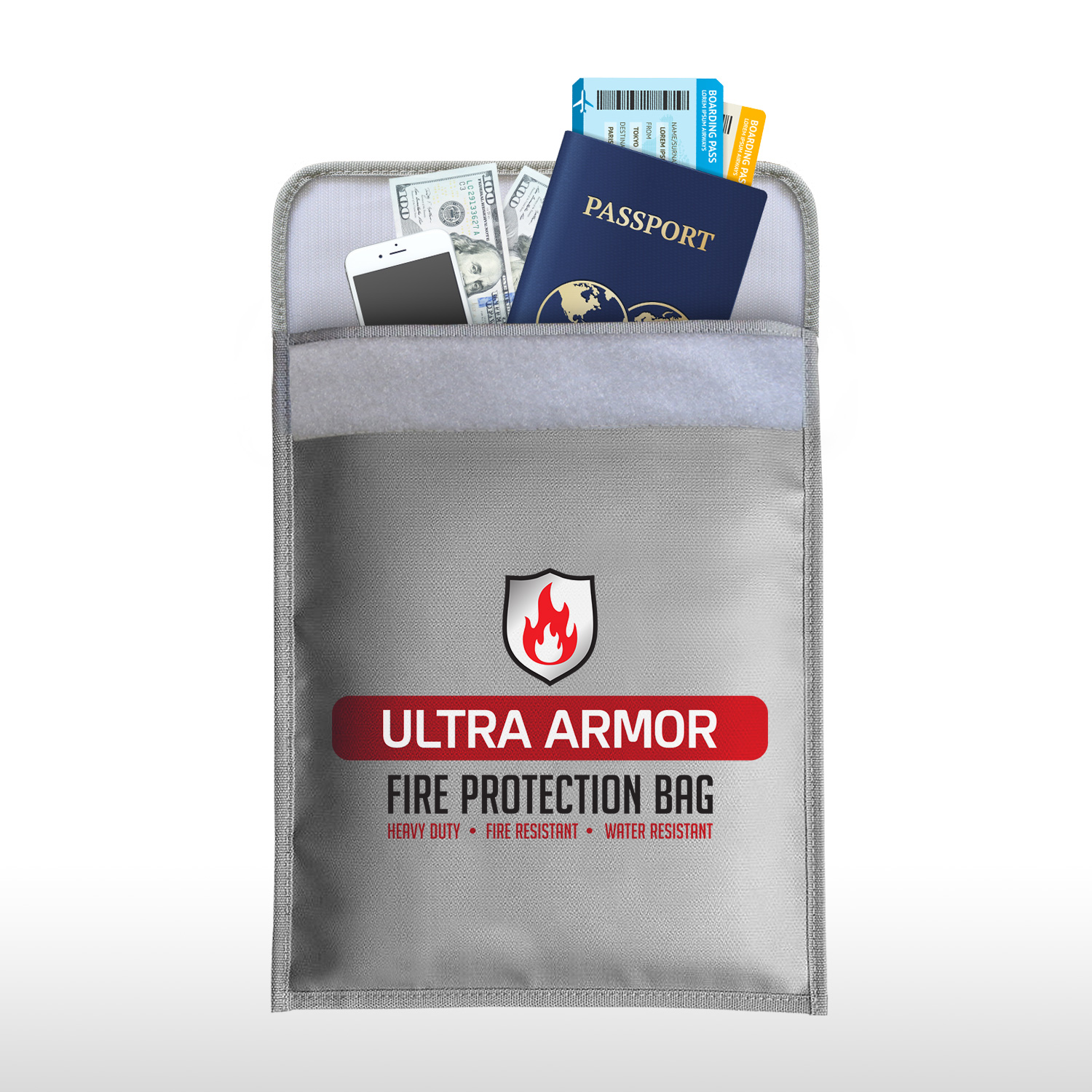 Ultra Armor Fireproof Document Bag A Perfect Safe Accessory