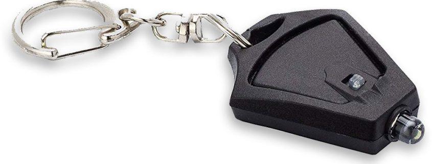 LED keychain flashlight for keys