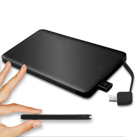 thin power bank battery charger