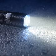 Security LED Flashlight
