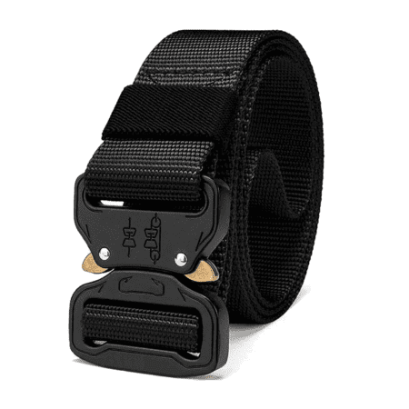 Heavy Duty Tactical Utility Belt Black