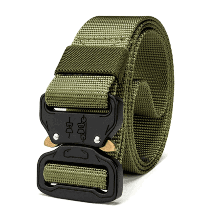 Heavy Duty Tactical Utility Belt Green