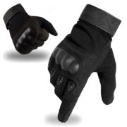 tactical glove full finger black