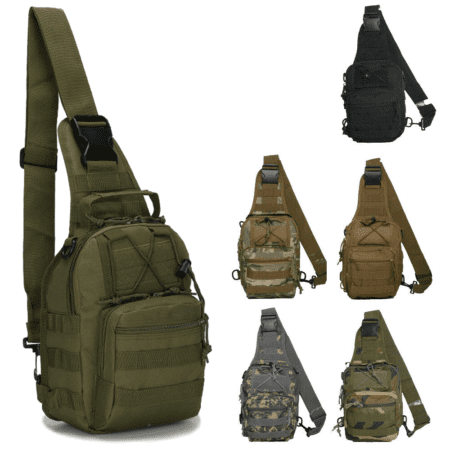 tactical sling chest bag