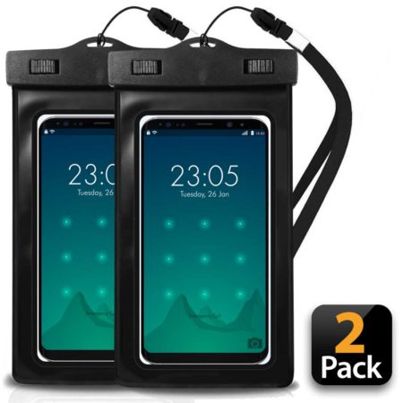 Waterproof cell phone dry bag